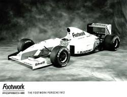 Formula 1 Footwork Porsche FA12