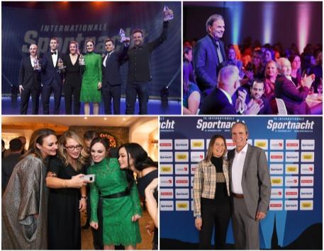 Preisträger: Stephan Lichtsteiner, Jeannine Gmelin, Martina Hingis, David Schnabel, Christian Maurer