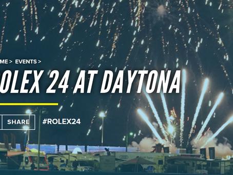Next Event: Rolex 24 at Daytona, January 27-28, 2018