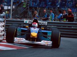 Johnny Herbert GP Monaco 1996