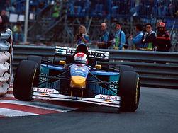 1995 wird Max Welti Teamdirketor bei Sauber Formel 1 im Bild Johnny Herbert