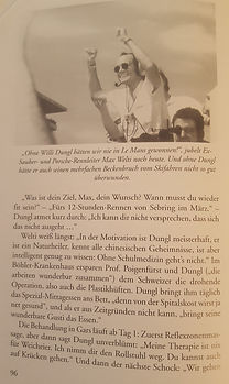 Max Welti ein gosser Freund und Anhänger von Willi Dungl