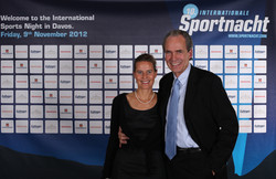 Anke & Max Welti Sportnacht Davos
