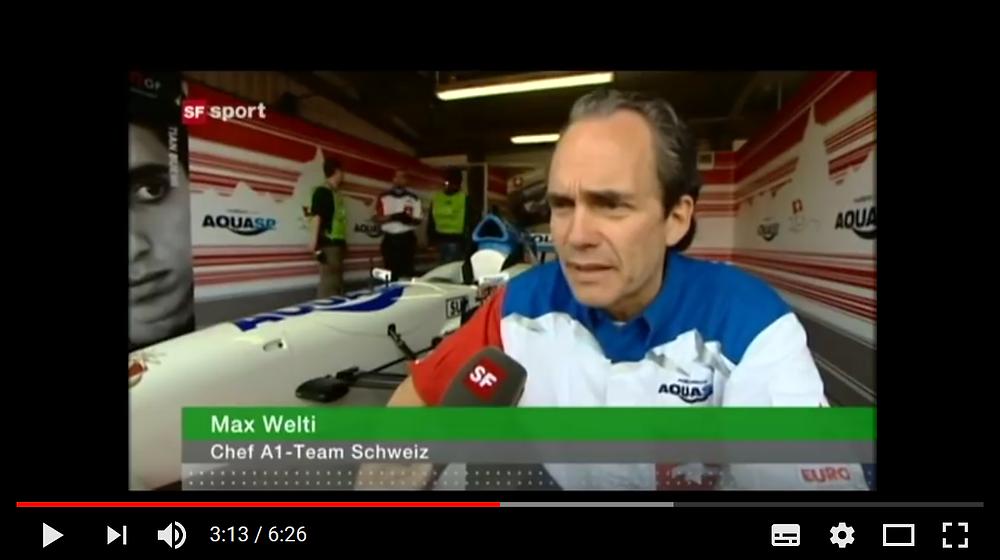 Max Welti A 1 Team Switzerland