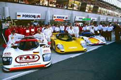 Le Mans Porsche Team