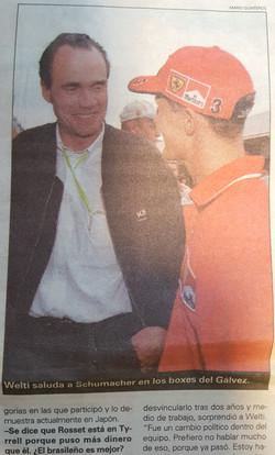 Max Welti / Michael Schumacher