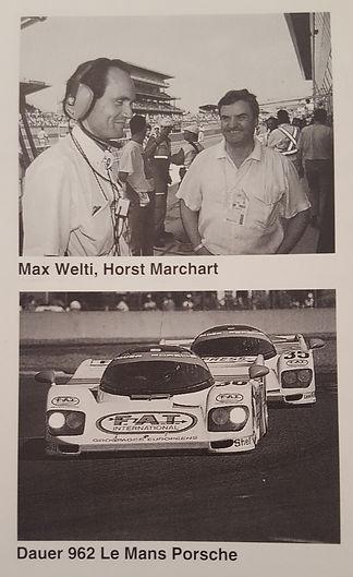 Max Welti gewinnt mit Porsce da 24 Stunen Rennen von Le Mans 1994 mit dem Porsche 962