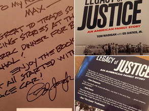 Justice Brothers - a fascinating family story. Thanks Ed for the great evening!