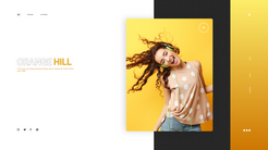 Orange Hill - Web Layout