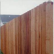 Dog Ear Privacy Fence by Wayne's Fencing