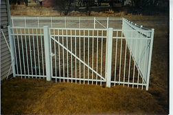 Gates for all types of Ornamental Metal Fence by Waynes Fencing