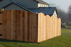 Crowned Privacy Fence