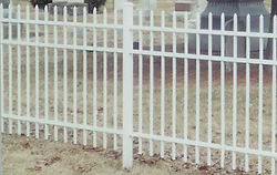 Ornmental Aluminum Style 101 by Wayne's Fencing