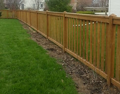 Custom Picket Fence Styles by Wayne's Fencing