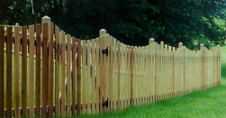 Scalloped Spaced Picket