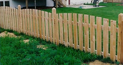 Crown Spaced Picket Wayne's Fencing