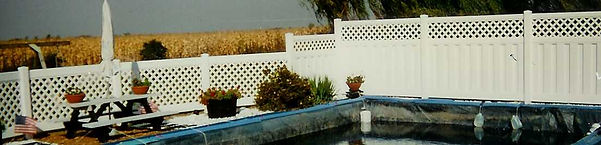 PVC to Enclose Your Pool by Wayne's Fencing