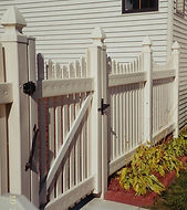 Gates for all types of PVC Fence by Waynes Fencing