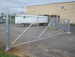 Waynes Fencing     Commercial Chain Link