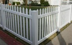 PVC Spaced Picket by Wayne's Fencing