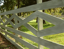 Cross Buck Rail by Wayne's Fencing