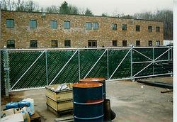 Cantilever slide gates