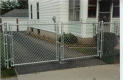 Gates for all types of Chain Link Fence by Waynes Fencing