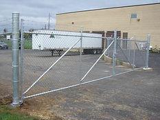 Commercial Industrial Cantilever Slide Gate