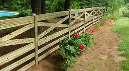 Crossbuck Rail by Wayne's Fencing