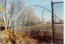 Baseball backstops by Wayne's Fencing