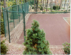 Tennis Courts by Wayne's Fencing