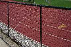 Track, field and outfield fence by Wayne's Fencing