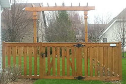 Gates for all types of Wood Fence by Waynes Fencing