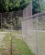 Baseball Backstops and Infield Fence by Wayne's Fencing