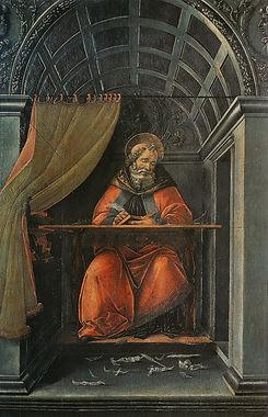 Sandro_Botticelli_-_St_Augustin_dans_son
