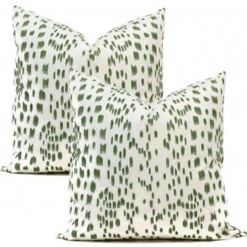Pair Of Brunschwig & Fils Pillows ~ Set Of 2