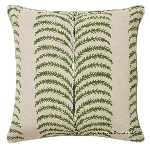 Phlebodium Designer Accent Pillow