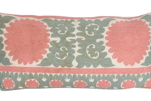 Vintage Tashkent Lumbar Pillow