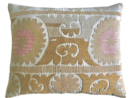 Vintage Samarkand Accent Pillow