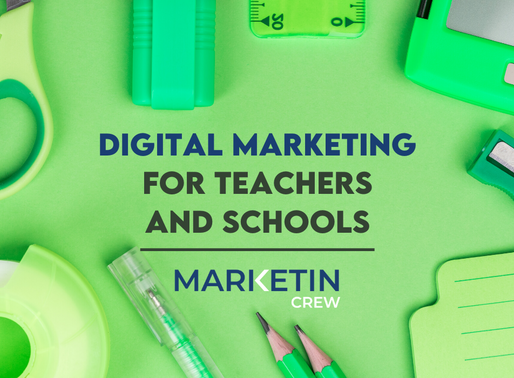 7 Reasons For Educators To Build An Online Presence! Digital Marketing - Schools, Tutors & Teachers