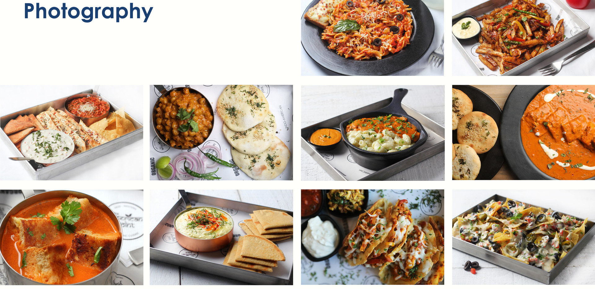Digital Marketing Report for The American Joint - Food Photography by MarketinCrew