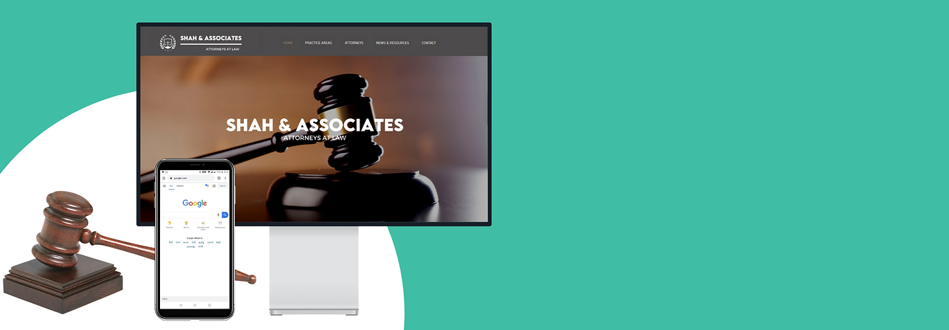Digital marketing - website and seo for lawyers