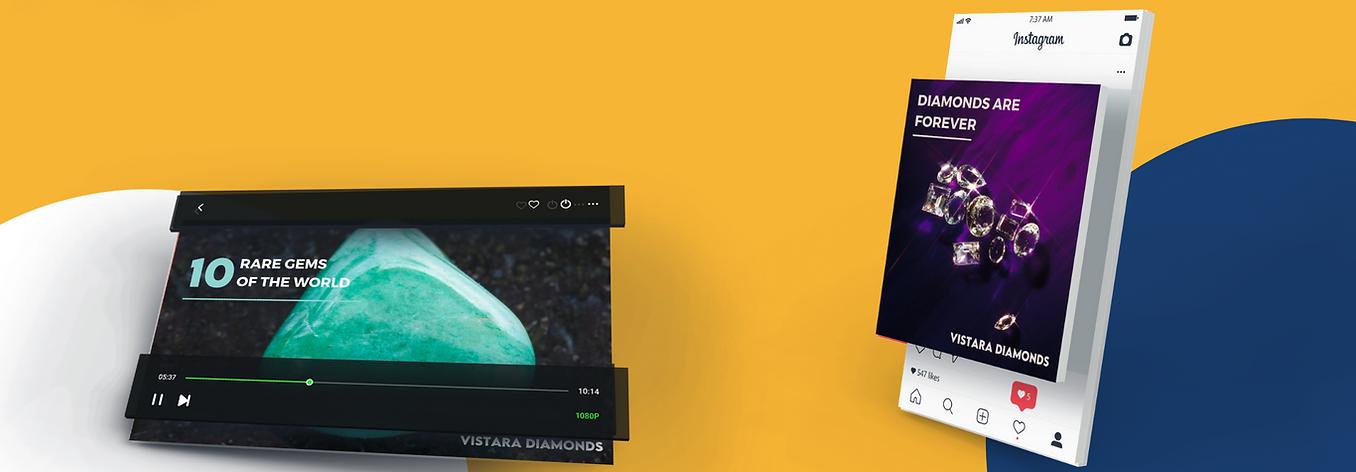 Digital marketing social media for Diamond companies