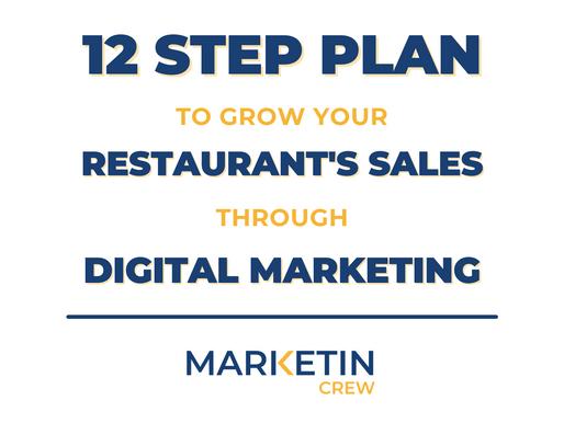 12 Step Plan To Grow Your Restaurant's Sales Through Digital Marketing