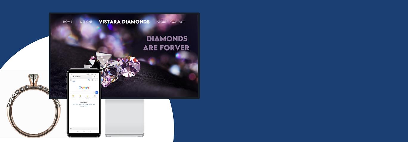 Digital marketing website and seo for Diamond companies