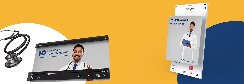 digital marketing - social media for doctors
