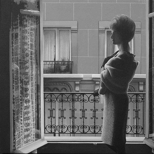 Christine à la fenêtre