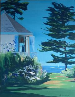 Bleu de juillet en Bretagne