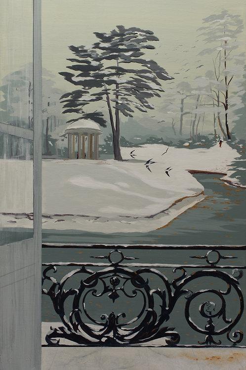 Neige sur le Trianon, Versailles