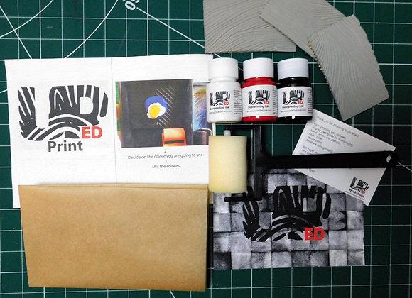 Red Black White overprinting kit